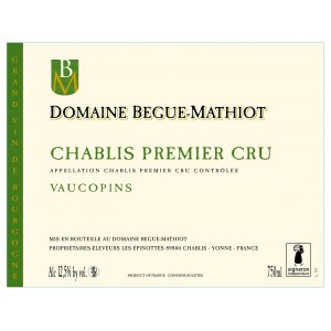 Chablis Premier Cru Vaucopins