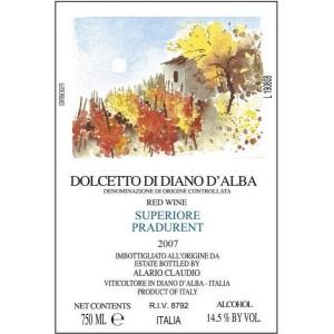 Alario Claudio Dolcetto di Diano d'Alba Superiore Pradurent