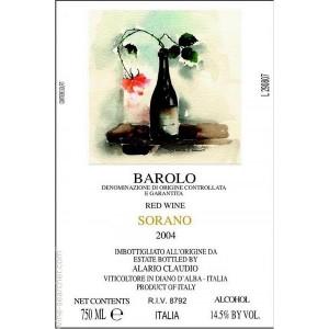 Alario Claudio Barolo Sorano Magnum