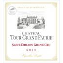 Château Tour Grand Faurie vertical tasting