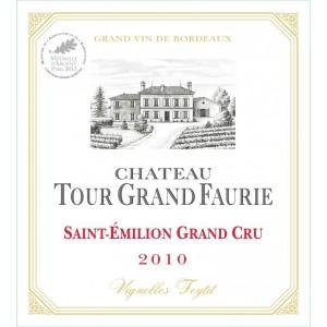 Ch Tour Grand Faurie vertical tasting